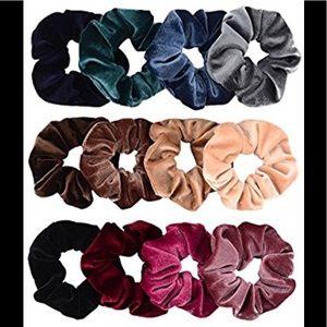 Accessories - Velvet Hair Scrunchies